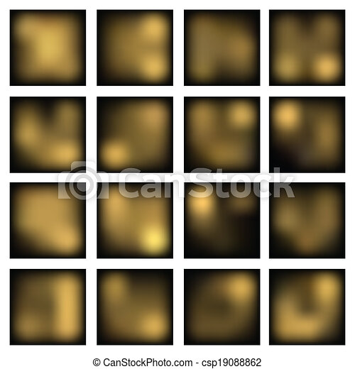 Abstract blurred (blur) backgrounds. - csp19088862