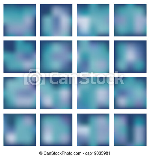 Abstract blurred (blur) backgrounds. - csp19035981