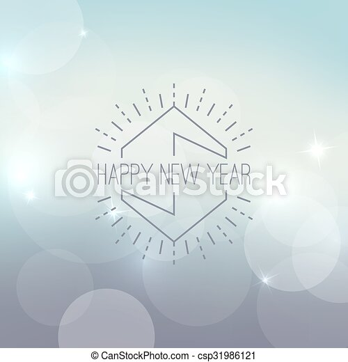 abstract blurred vector background with sparkle stars and hipster border frame for decorations for merry christmas new year festivals xmas