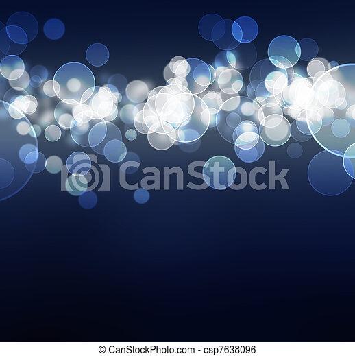 abstract, bokeh, kleurrijke - csp7638096