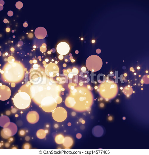 Abstract Bokeh light Background  - csp14577405