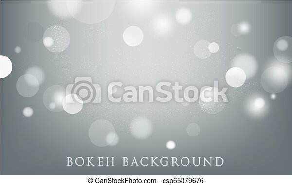 abstract bokeh lights background - csp65879676