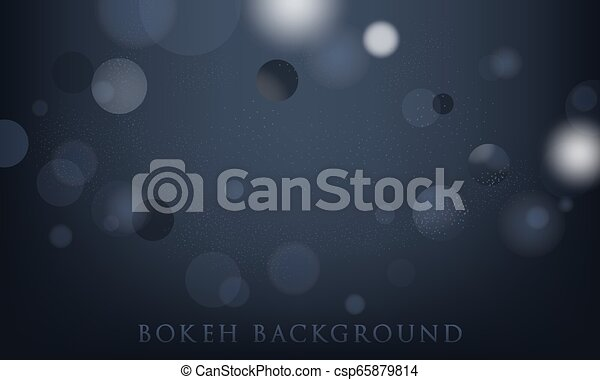 abstract bokeh lights background - csp65879814