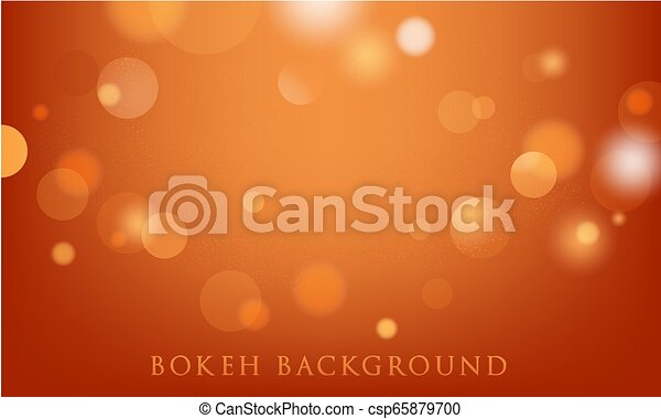 abstract bokeh lights background - csp65879700