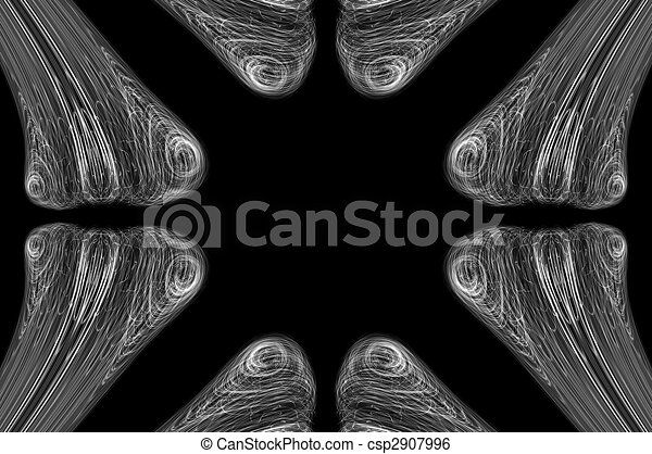 Abstract Bone XRay Background - csp2907996