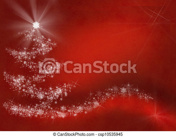 Abstract border frame, Christmas background - csp10535945