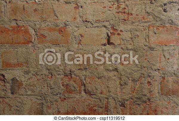 Abstract Brick Pattern #4 - csp11319512