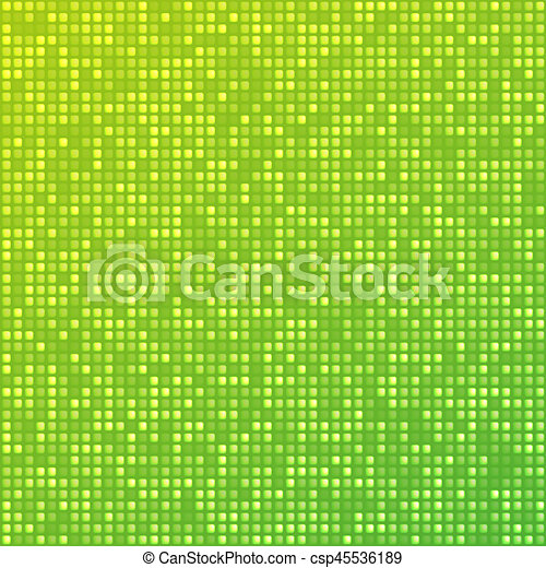Abstract Bright Mosaic Gradient Green Lime Background