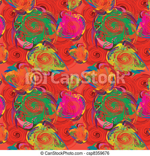 Abstract bright seamless background - csp8359676