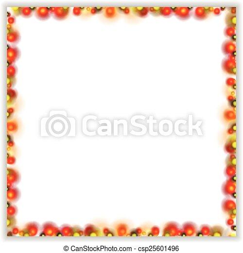 Abstract bright shiny frame - csp25601496