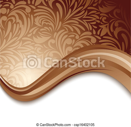 Abstract brown background - csp16402105