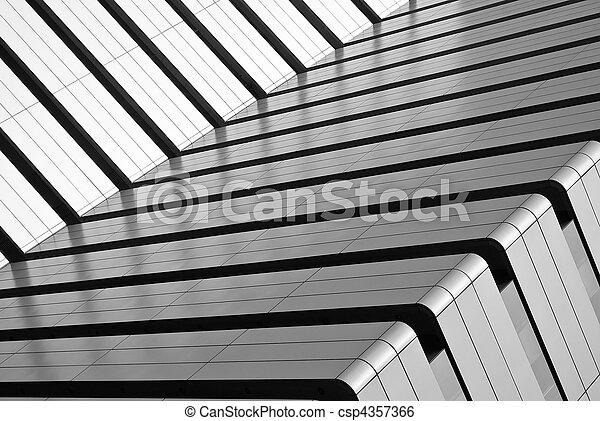 Abstract building exterior - csp4357366