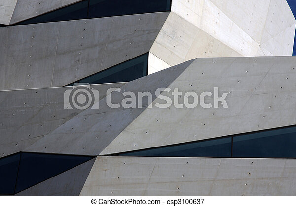 Abstract building - csp3100637