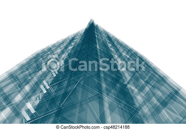 Abstract building - csp48214188