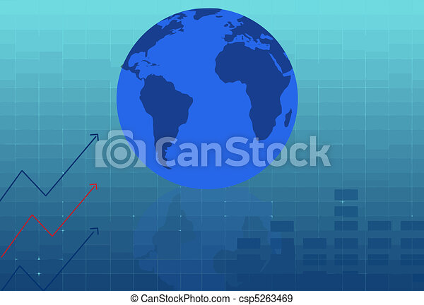 Abstract business background - csp5263469