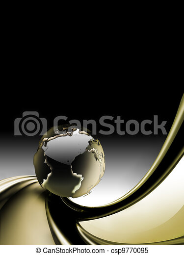 abstract business background - csp9770095