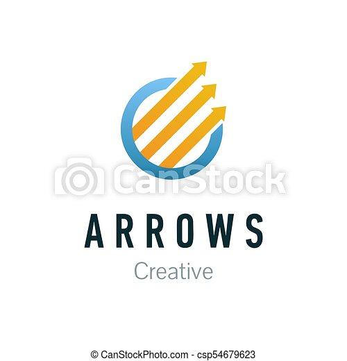 Abstract Business Company Logo Corporate Identity Design Element