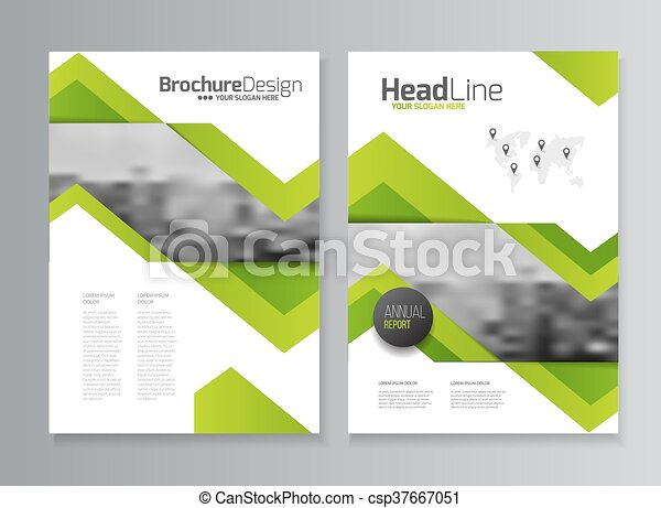abstract business flyer design vector template in a4 size document or book cover annual report with photo and text simple style brochure