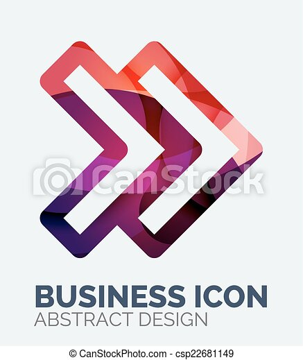 Abstract business logo - csp22681149