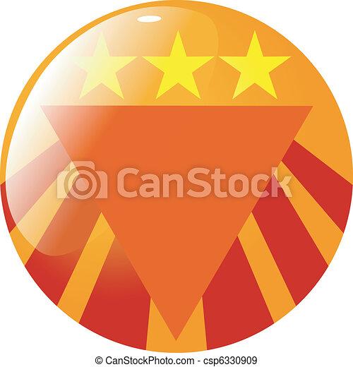 abstract button - csp6330909