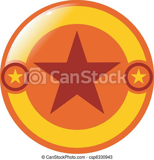 abstract button - csp6330943