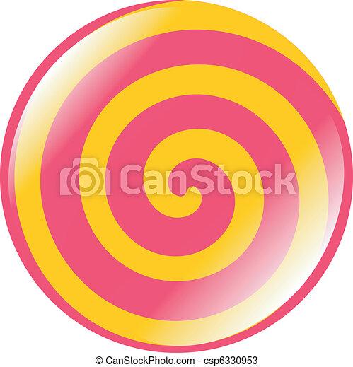 abstract button - csp6330953
