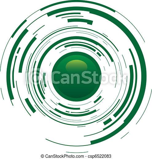 abstract button - csp6522083