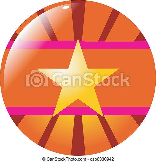 abstract button - csp6330942