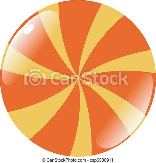 abstract button - csp6330911
