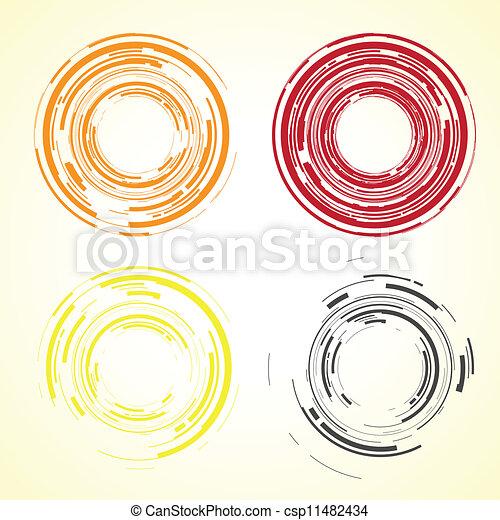 abstract camera lens - csp11482434