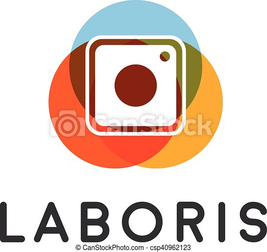 abstract camera social network vector logo photo video vector rh canstockphoto com video play icon vector video camera icon vector