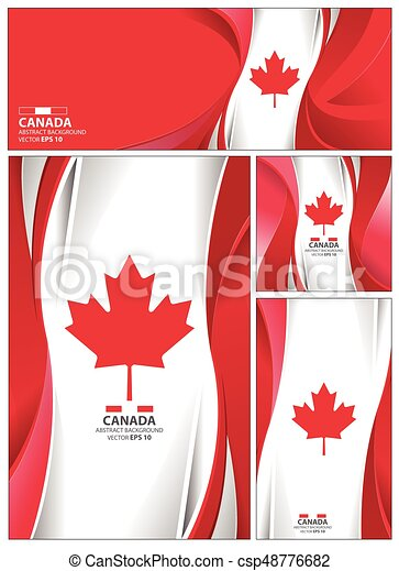 abstract canada flag background canada flag abstract colors
