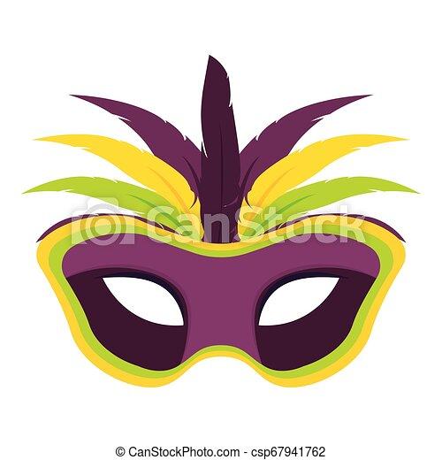 Abstract carnival mask - csp67941762