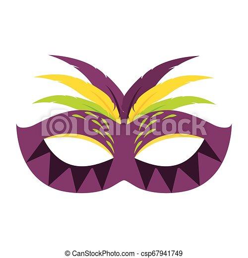 Abstract carnival mask - csp67941749