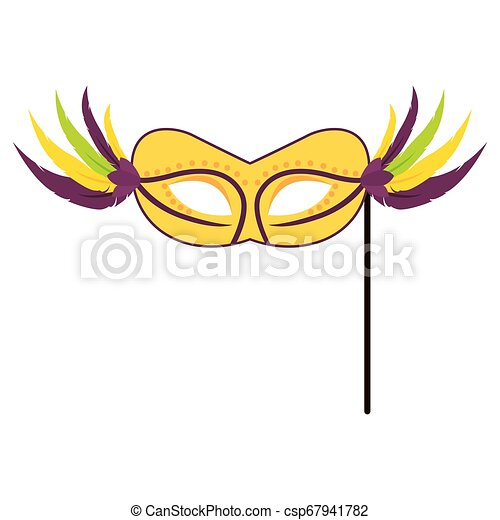Abstract carnival mask - csp67941782
