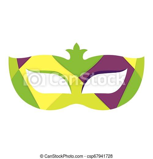 Abstract carnival mask - csp67941728