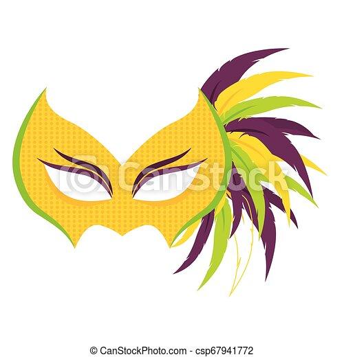 Abstract carnival mask - csp67941772