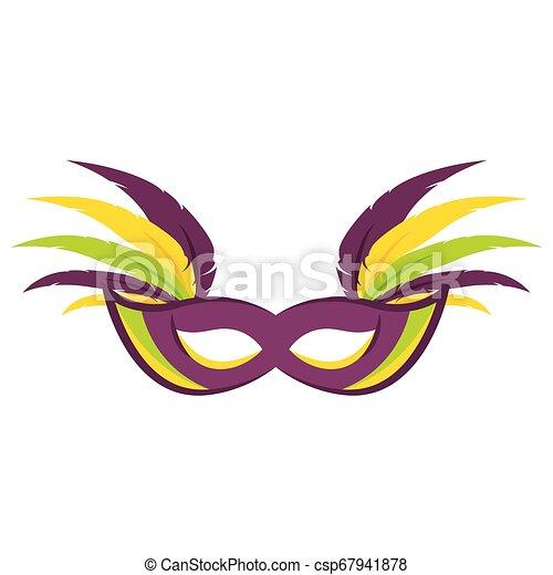 Abstract carnival mask - csp67941878