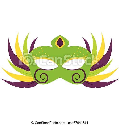 Abstract carnival mask - csp67941811