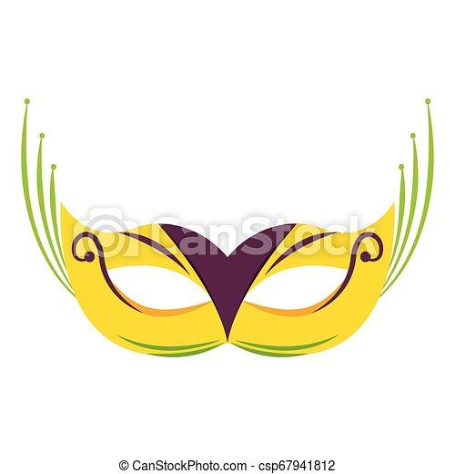 Abstract carnival mask - csp67941812