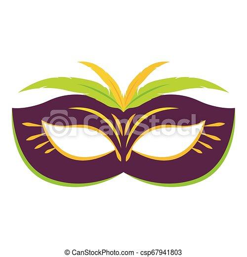Abstract carnival mask - csp67941803
