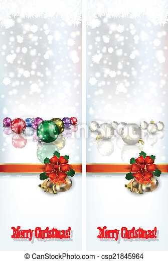 abstract celebration greetings with Christmas illustrative eleme - csp21845964