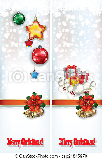 abstract celebration greetings with Christmas illustrative eleme - csp21845970