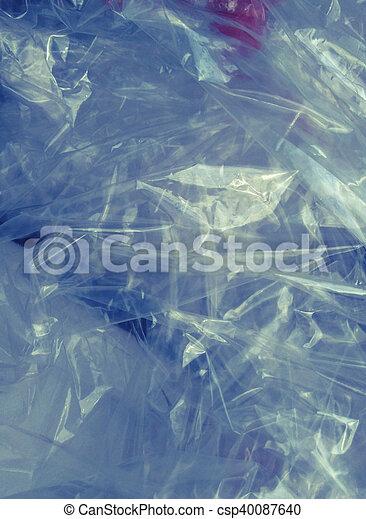 Abstract cellophane background - csp40087640