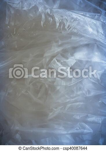 Abstract cellophane background - csp40087644