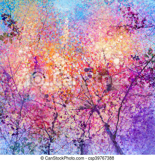 Abstract cherry blossom flower watercolor painting background abstract cherry blossom flower watercolor painting background csp39767388 mightylinksfo