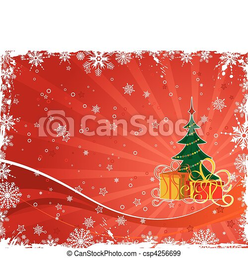 Abstract christmas background - csp4256699