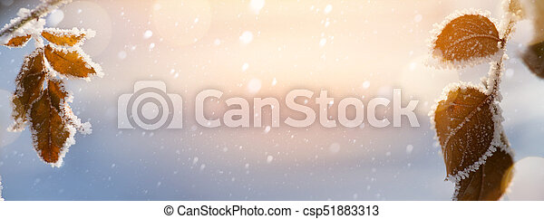 Abstract Christmas background - csp51883313