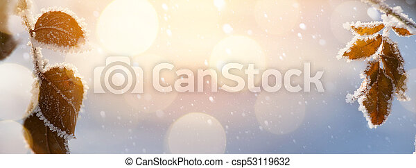 Abstract Christmas background - csp53119632
