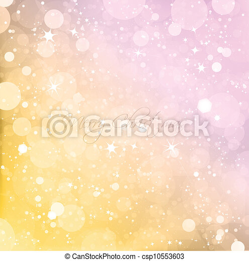 Abstract Christmas background. Vector - csp10553603